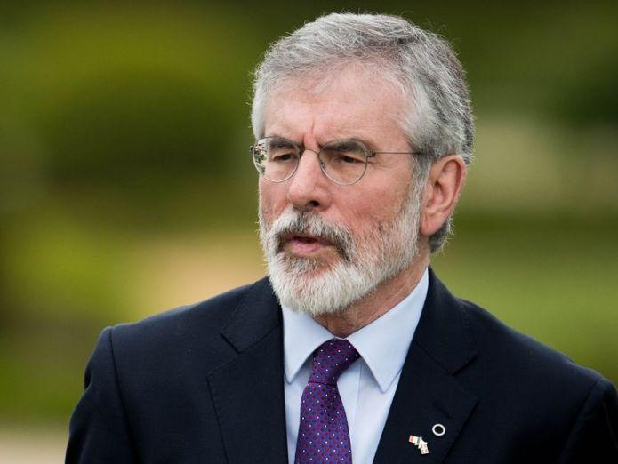 Gerry Adams was the leader of Sinn Fein from the 1980s until 2018  Brexit makes Irish unity 'a more imminent reality' skynews gerry adams sinn fein 4361521