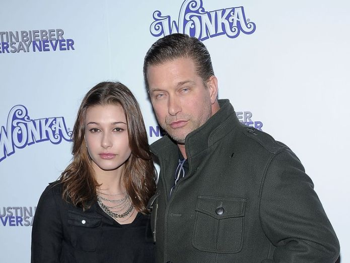 Hailey Baldwin and Stephen Baldwin together in 2011  Justin Bieber 'proposes' to model Hailey Baldwin in Bahamas skynews hailey baldwin stephen baldwin 4357145