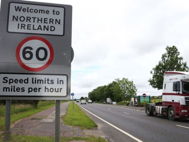 The border between Northern Ireland and the Republic is one of the key Brexit issues.