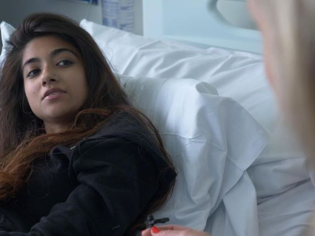 New technology has made it easier for Isha Ali to get pain relief for kidney failure
