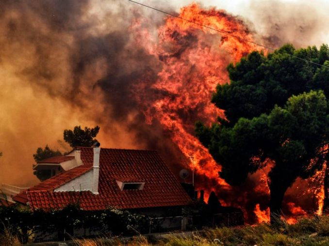 Image result for fire in greece