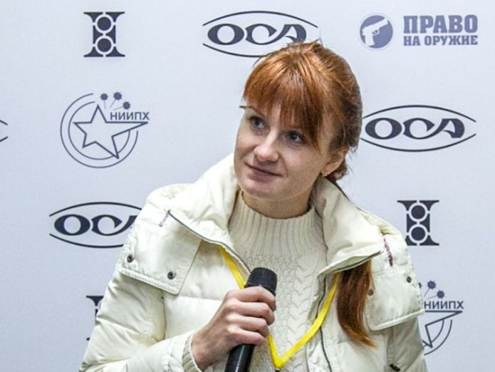 Maria Butina faces an additional charge of working on behalf of the Russian government  Russian Maria Butina faces charge of acting for foreign government skynews maria butina butina 4364776