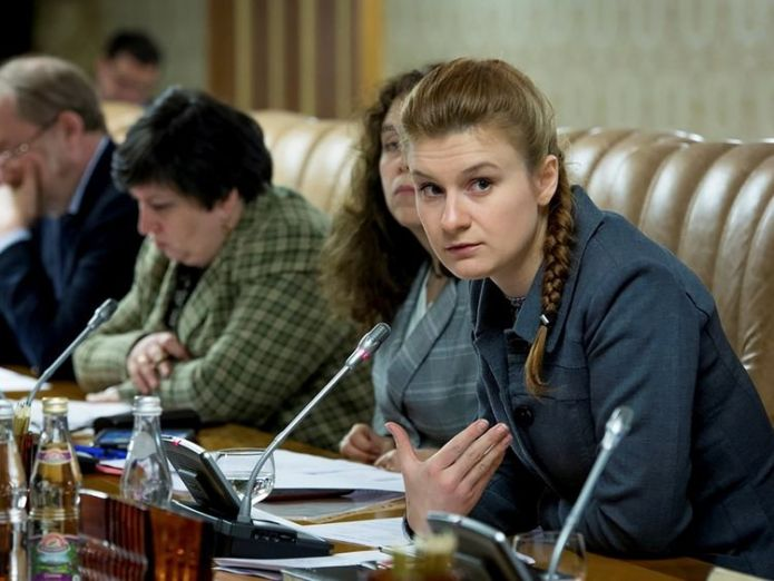 Maria Butina has been charged with infiltrating US political organisations  Russian Maria Butina faces charge of acting for foreign government skynews maria butina russia 4364269
