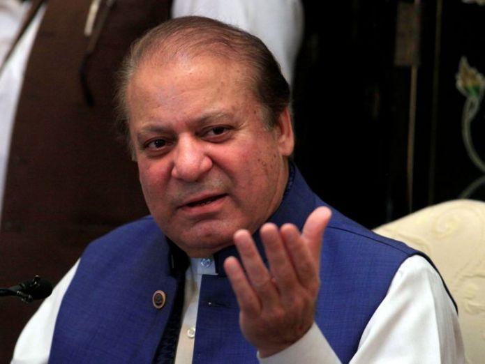 Nawaz Sharif  Ex-cricket star Imran Khan could be prime minister skynews nawaz sharif pakistan 4370527