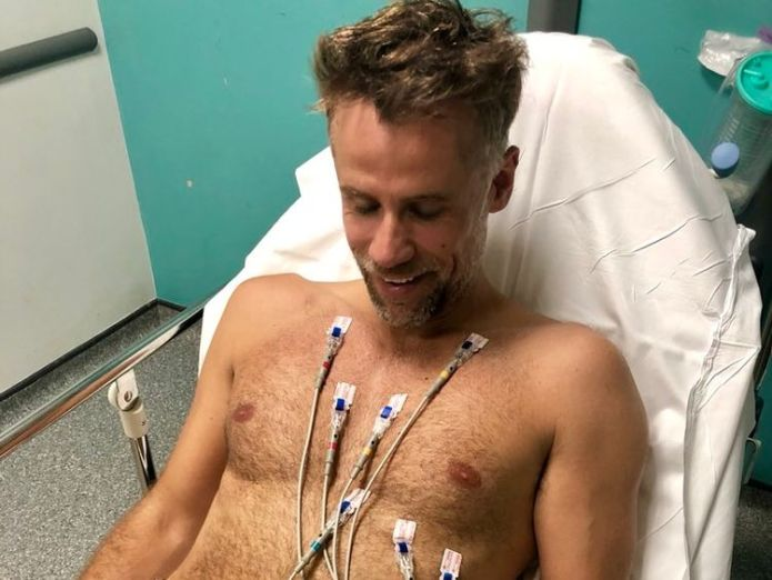 Bacon tweeted this photo of himself last week. Pic: Twitter/Richard Bacon  Richard Bacon leaves hospital after coming out of coma and thanks NHS 'who definitely saved my life' skynews richard bacon hospital 4361182