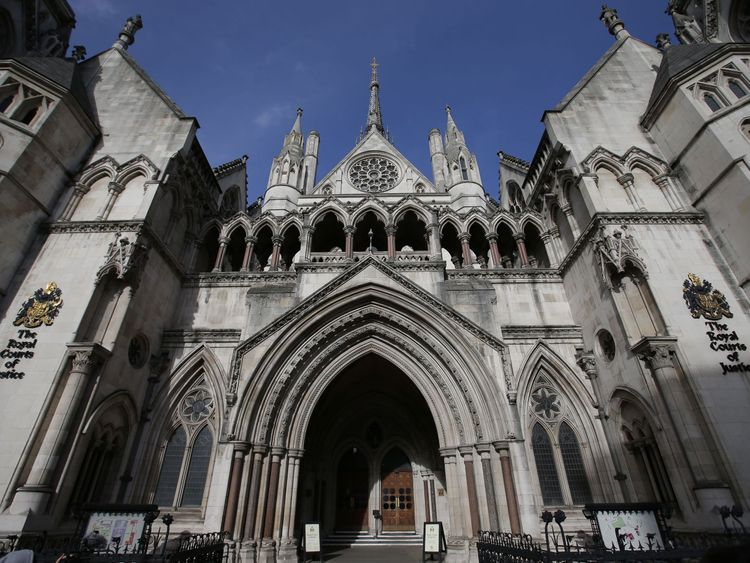 The Royal Courts of Justice, where JT's appeal was made