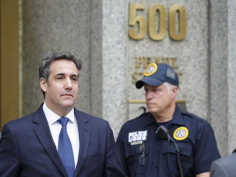 Michael Cohen was once President Donald Trump's personal lawyer and confidante