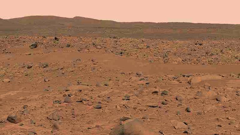 Bilhões de anos atrás, havia uma abundância de água em Marte
