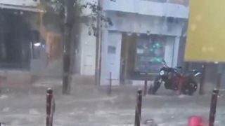Flash flooding surprises residents in southern France  Helicopters help evacuate 750 campers after flooding in southern France skynews france floods aubagne 4385310