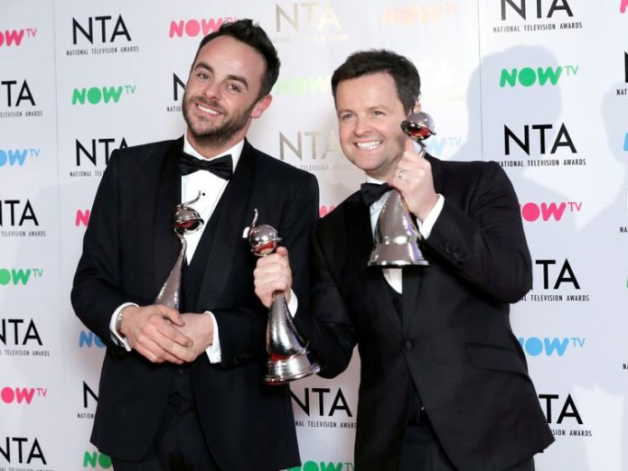 Ant McPartlin is to continue with his break from the show  Dec to get a new co-host on I'm A Celebrity, ITV bosses confirm skynews ant mcpartlin im a celeb 4398828