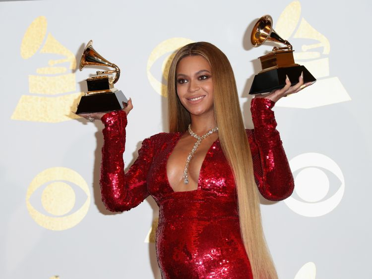 Beyonce had twins in June 2017