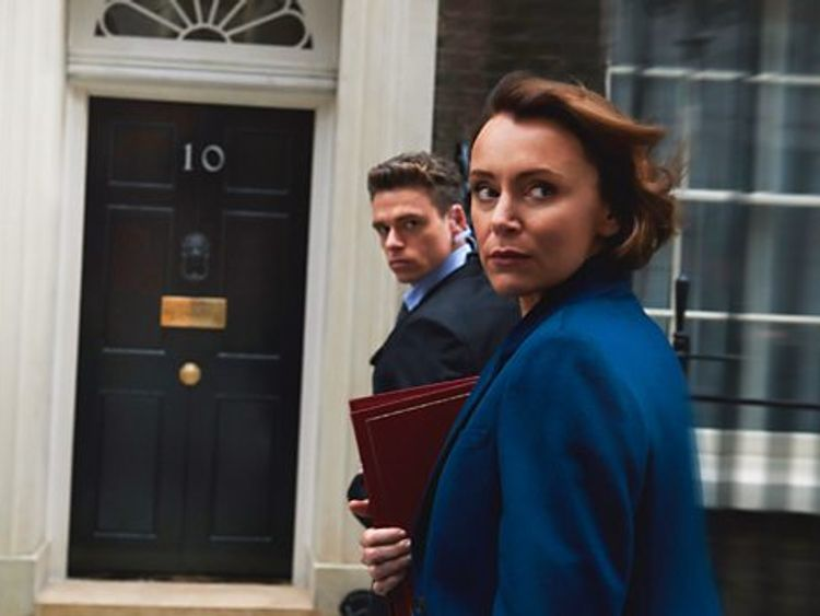 The show features a female home secretary and has had positive reviews