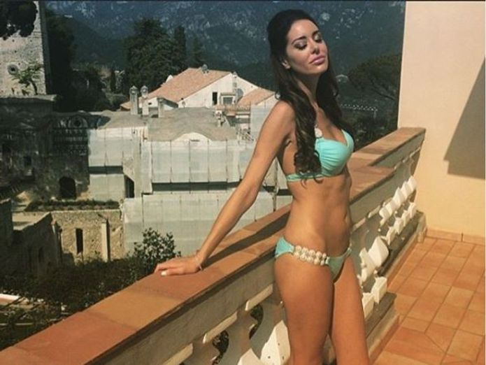 The model had only recently moved into the apartment, neighbours said. Pic: Facebook  Former Playboy model Christina Carlin-Kraft strangled to death in Pennsylvania home skynews christina carlin kraft 4400243