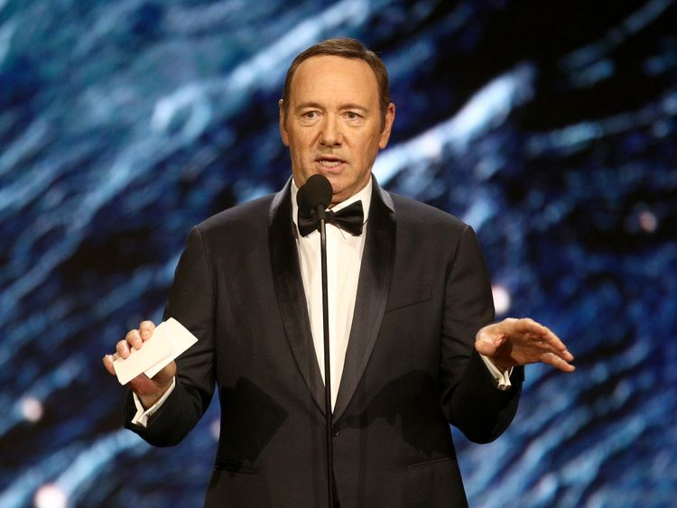 Kevin Spacey has faced a string of sexual misconduct allegations