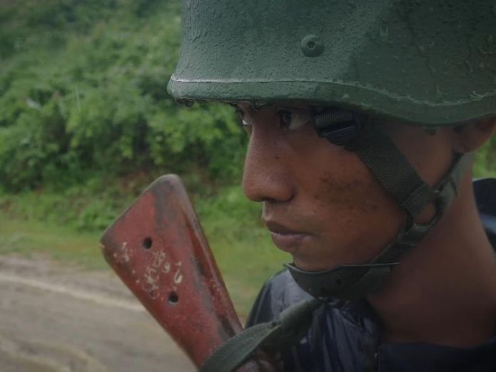 The United Nations called the violence carried out by Myanmar troops last year 'ethnic cleansing'  It's still not safe for Myanmar's refugees to return skynews rohingya crisis myanmar 4397905