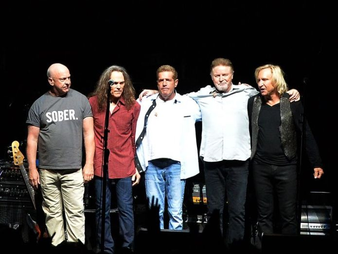 The Eagles Greatest Hits album has become 38x platinum  The Eagles beat Michael Jackson to take bestselling album ever in the US skynews the eagles nashville 4396665