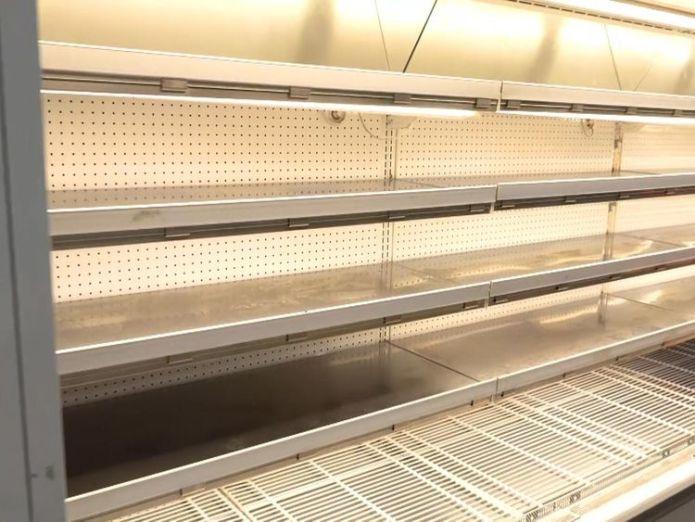 Supermarket shelves are bare even if you can afford food  Venezuelans flee as economic crisis deepens skynews venezuela hyperinflation 4403957