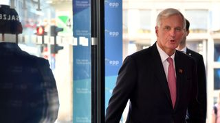 Michel Barnier will meet Mr Corbyn to hear Labour's Brexit view  UK economy grows by 0.6% in third quarter despite September 'weakness' skynews brexit labour corbyn 4434920
