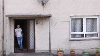 Robert Brydon is the only man who lives on his street.  How the UK is facing five housing crises at once skynews scotland housing crisis 4427731