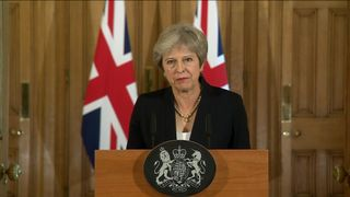 Theresa May  Donald Tusk's Instagram post that pushed May's buttons skynews theresa may brexit statment 4428789