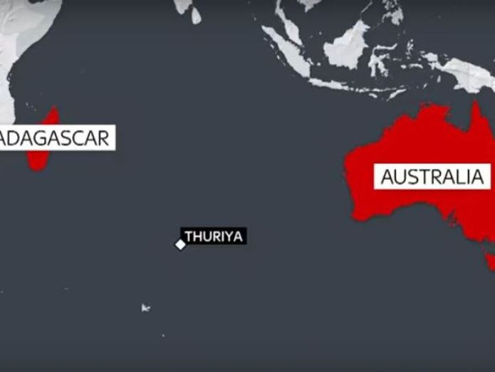 Thuriya  Mission to rescue badly injured solo sailor stranded 2,000 miles out to sea skynews abhilash tomy thuriya 4431113