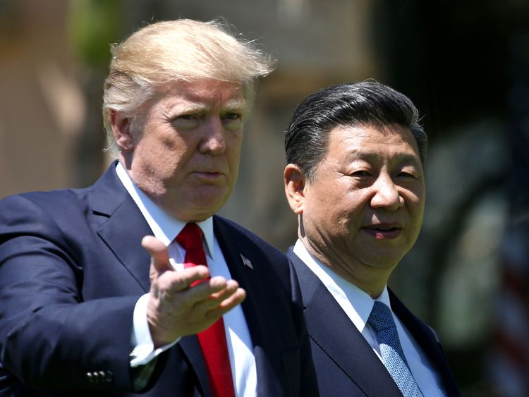 Donald Trump has promised further tariffs on China if it retaliates