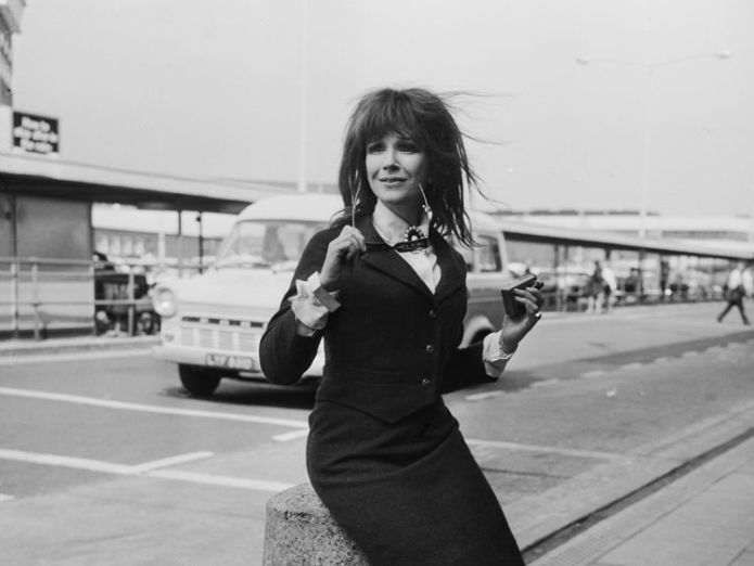 The actress was best known for starring in two Carry On films  'Divine' Carry On actress dies aged 90 skynews fenella fielding actress 4418300