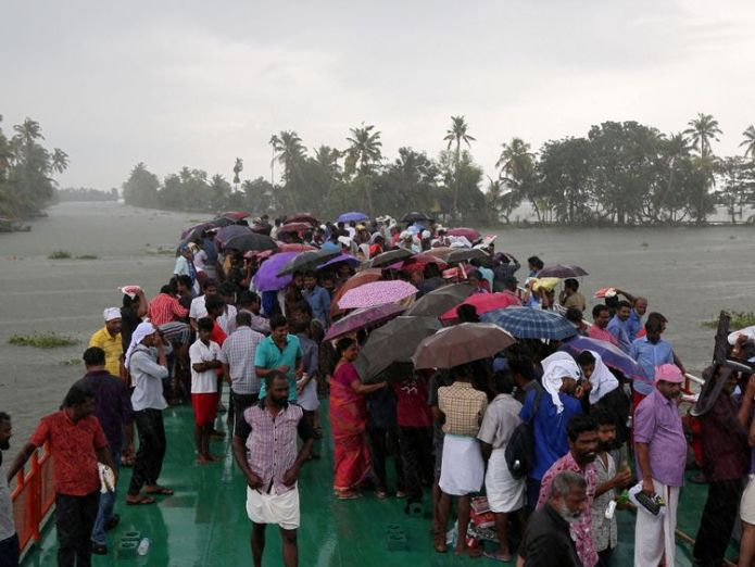 A total of 1.4m people were forced from their homes during the 2018 monsoon season in Kerala  'Rat fever' and malaria kill India flood victims as waters subside skynews kerala india flood 4411124