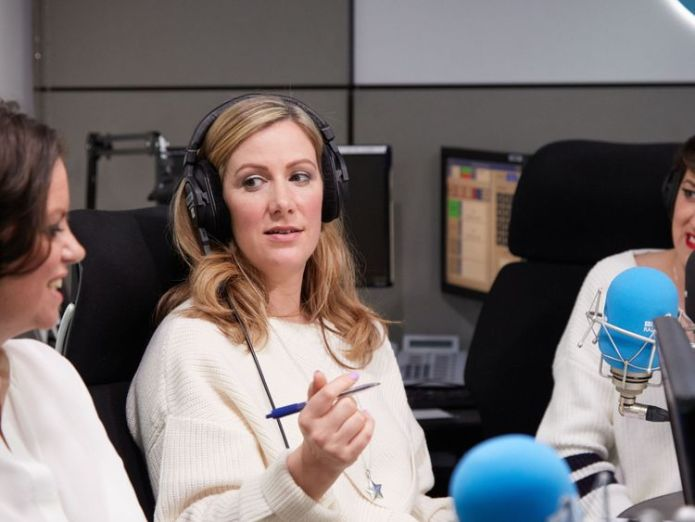 Mrs Bland recording her podcast   BBC presenter Rachael Bland dies from cancer aged 40 skynews rachael bland bbc presenter 4412041