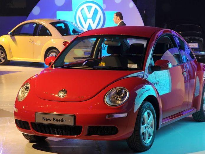 The Beetle was given a modern revamp in the 1990s   Volkswagen to stop making Beetles skynews volkswagen beetle 4420122