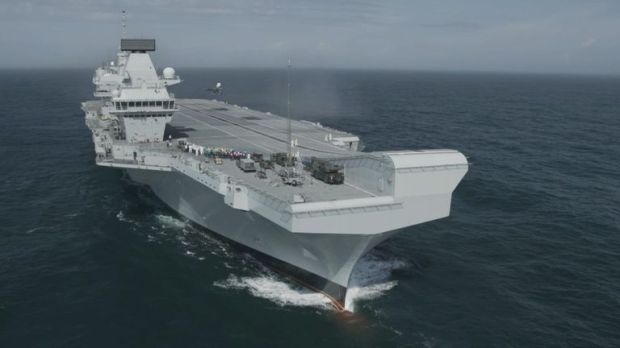 The carrier will continue trials with the aim to be ready by 2020 according to the Ministry of Defence.