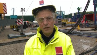 Francis Egan, chief executive of Cuadrilla
