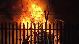 Vichai Srivaddhanaprabha's helicopter burst into flames after crashing outside the King Power Stadium