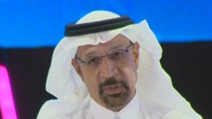 Saudi Energy Minister Khalid Al-Falih says 'nobody can justify or explain' the killing of journalist Jamal Khashoggi