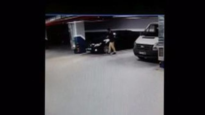 CCTV shows 'suspicious movement' with Saudi consulate cars.