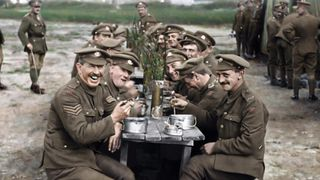 Director Peter Jackson's film sources original footage from WW1, bringing it to life with colour and voices of those that fought.