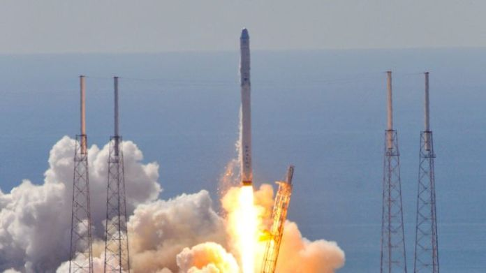 SpaceX's Falcon 9 exploded shortly after take-off in June 2015  Seven times when space rocket launches have failed skynews spacex falcon 9 4449814
