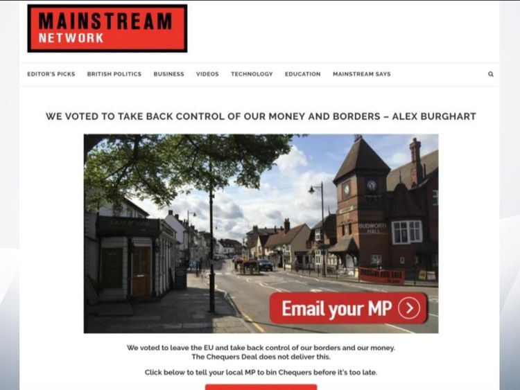 The adverts are targeting MPs as well as voters