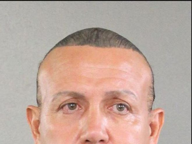 Cesar Sayoc has been arrested in connection with the devices. Pic: Broward Sherrif's Office