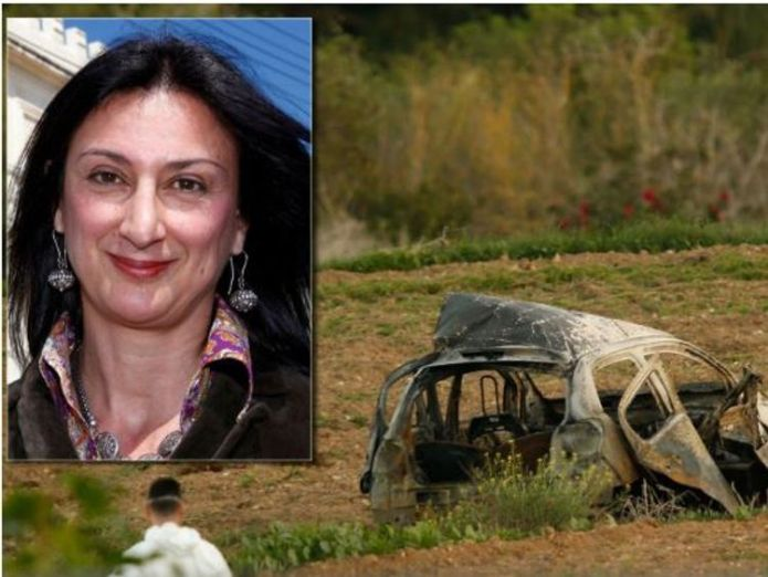 Daphne Caruana Galizia was killed in Malta a year ago  Bulgarian police probing journalist Viktoria Marinova's murder detain Romanian skynews daphne caruana galizia 4448045