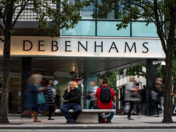 Debenhams currently has 240 stores in over 25 countries