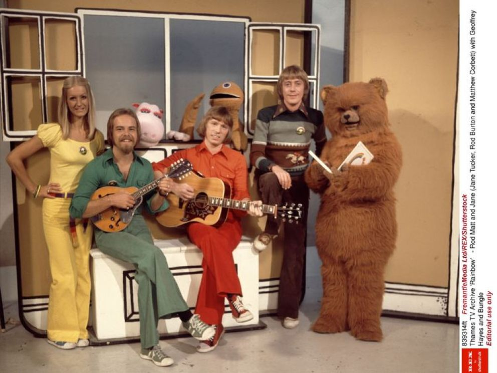 Rainbow presenter Geoffrey Hayes dies aged 76
