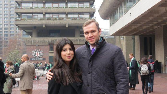 Matthew Hedges und seine Frau Daniela Tejada