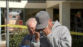 JASON COFFMAN CONFIRMS SON CODY AMONG THOSE KILLED  'Hero' policeman Sergeant Ron Helus among 12 killed skynews jason coffman california shooting 4480916