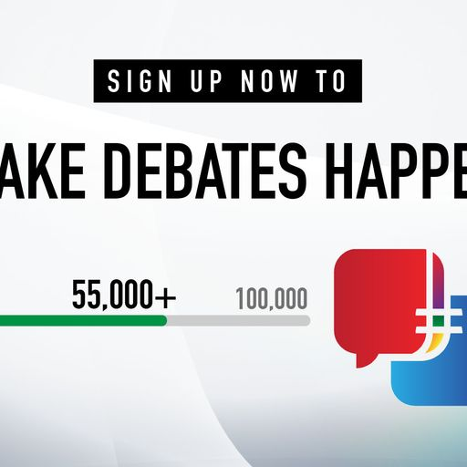 #Make DebatesHappen