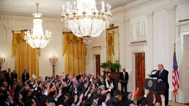 After the midterm elections, the president held a press conference