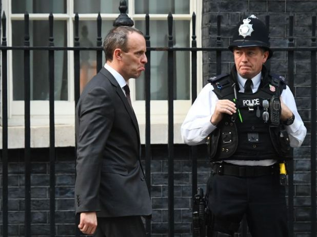 Dominic Raab resigned hours after cabinet agreed on the proposal