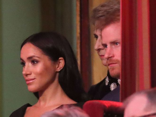 The Duke and Duchess of Sussex were in attendance