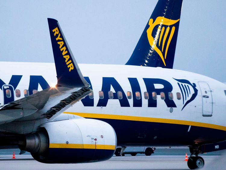 Ryanair has six employees because of one