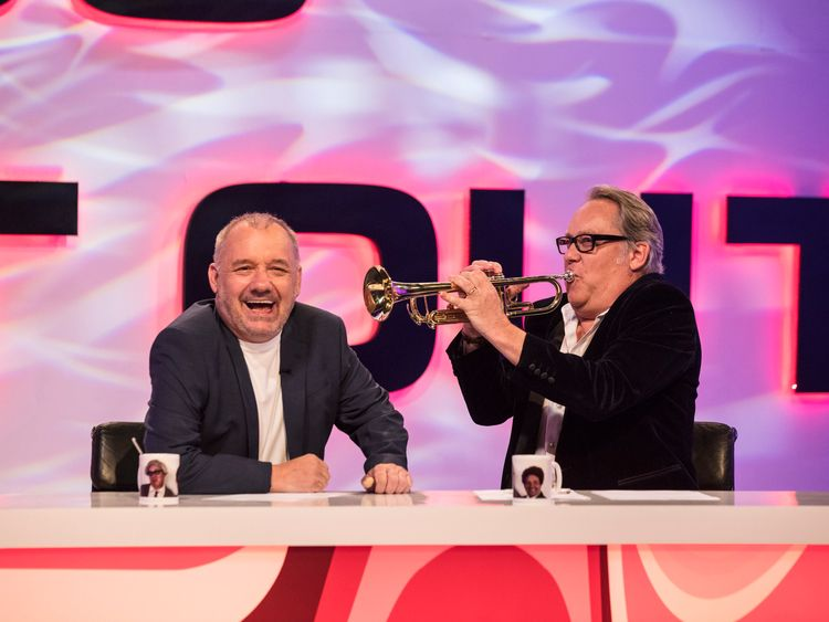 Vic Reeves and Bob Mortimer, Big Night Out. Pic BBC/Sophie Mutevelian